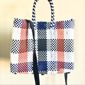 Truss Handwoven Plastic Style Crossbody Bag